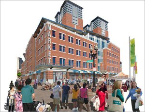 Artist's Rendering -- Boston Public Marketplace